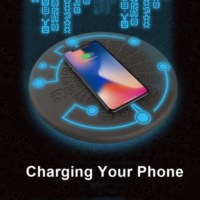 Tongdaytech 10W Magic Array Qi Wireless Charger For Iphone 8 X XR XS 11 Pro Max Cargador Inalambrico Fast Wireless Charging Pad 3