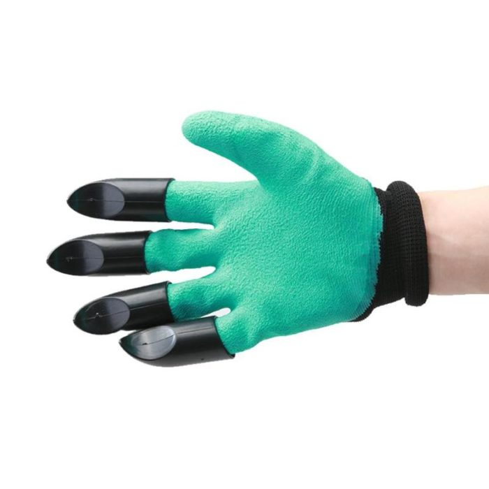 4pcs ABS Plastic Claws Gloves Supplies Garden Plant Digging Protective Safety Party Decor Household Tools Garden Hand Gloves 1