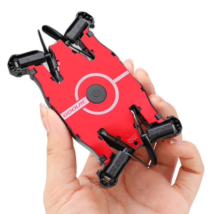 JJR/C JJRC T49 SOL Ultrathin Wifi FPV Selfie Drone 720P Camera Auto Foldable Arm Altitude Hold RC Quadcopter VS H49 E57 H37 2