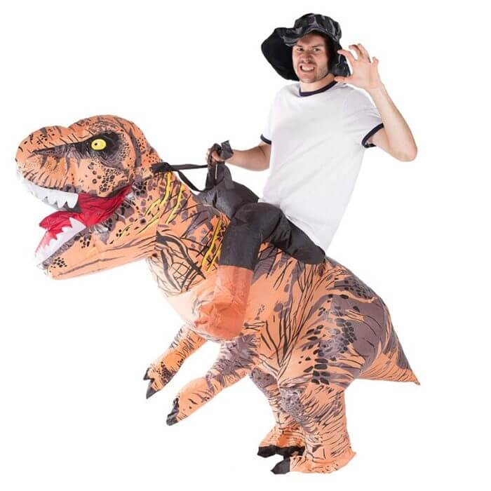 T-REX Mascot Inflatable Costume For Child Adult Anime Cosplay Dinosaur Animal Jumpsuit Birthday Gift For Paty Cosplay Disfraz 4