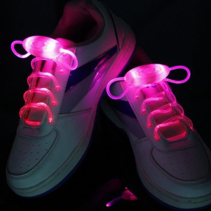 Party Skating Charming LED Flash Light Up Glow Shoelaces Shoe Laces Shoestrings 1