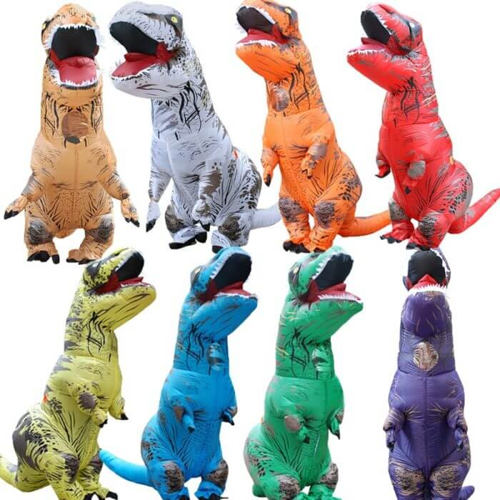 T-REX Mascot Inflatable Costume For Child Adult Anime Cosplay Dinosaur Animal Jumpsuit Birthday Gift For Paty Cosplay Disfraz 1