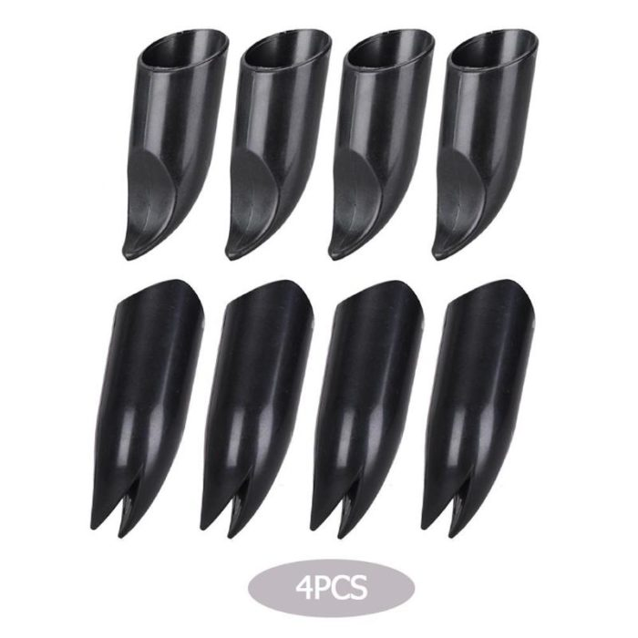 4pcs ABS Plastic Claws Gloves Supplies Garden Plant Digging Protective Safety Party Decor Household Tools Garden Hand Gloves 4
