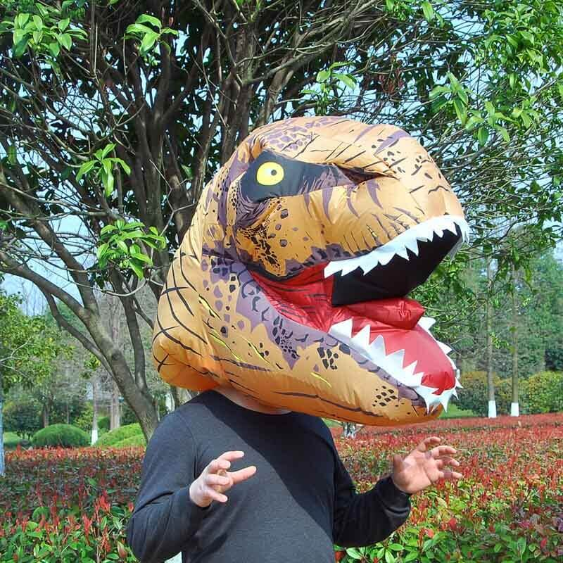 T-REX Mascot Inflatable Costume For Child Adult Anime Cosplay Dinosaur Animal Jumpsuit Birthday Gift For Paty Cosplay Disfraz 5