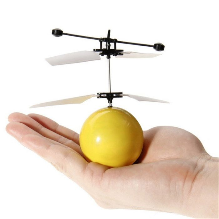 Eachine Mini Drone Hand Induction Flying Ball Facial Expression Toy Funny RC Helicopter Aircraft For Kid Toys Gift Flying Toys 2