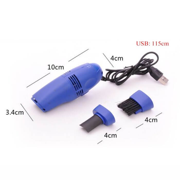 New Style Small Portable Durable USB Vacuum Cleaner Brush Dust Collector Computer Keyboard Phone Universal Cleaning Gadgets 4