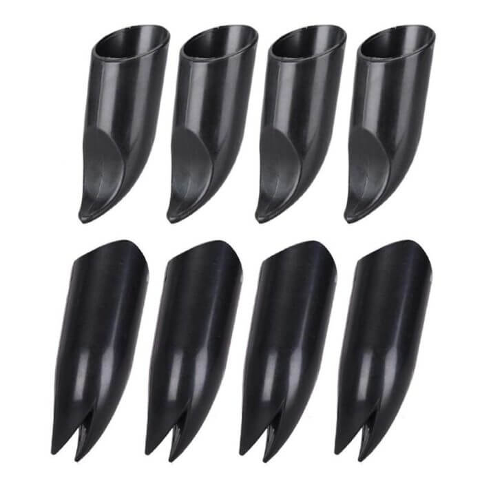 4pcs ABS Plastic Claws Gloves Supplies Garden Plant Digging Protective Safety Party Decor Household Tools Garden Hand Gloves 3