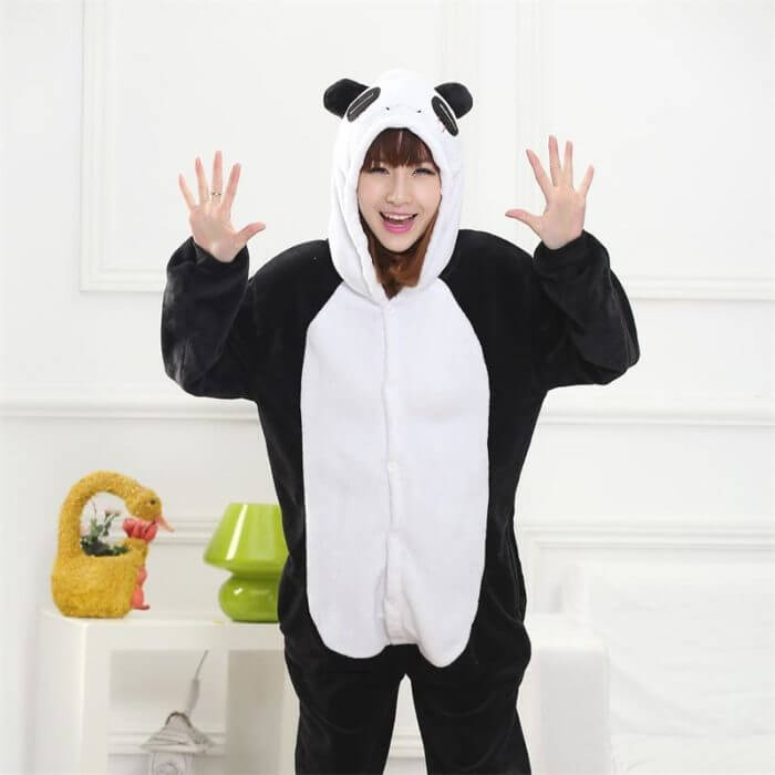 Totoro Kigurumi Onesie Adult  Animal Unicorn Pajamas Suit Warm Soft Stitch Sleepwear Onepiece Winter Jumpsuit Pijama Cosplay 2
