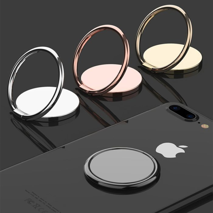 Luxury metal Mobile Phone Ring Holder Telephone Cellular Support Accessories Magnetic Car Bracket Socket Stand for mobile phones 1