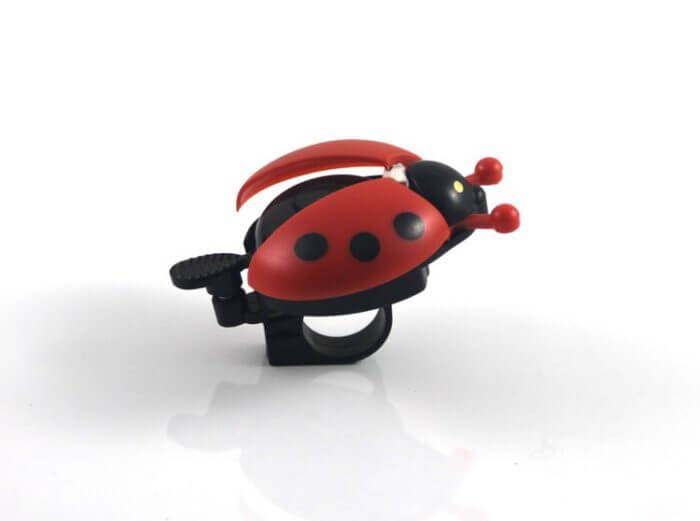 Bicycle Bell Ring Beetle Cartoon Cycling Bell Lovely Kids Ladybug Bell Ring for Bike Ride Horn Alarm bicycle Accessories 6
