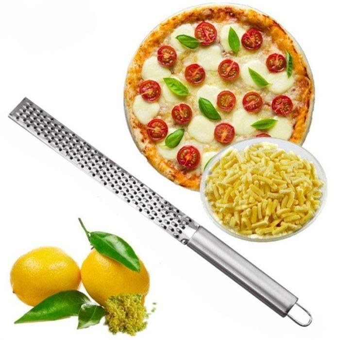 New Stainless Lemon Cheese Vegetable Zester Grater Peeler Slicer Kitchen Tool Gadgets Fruit Vegetable Chopper 2