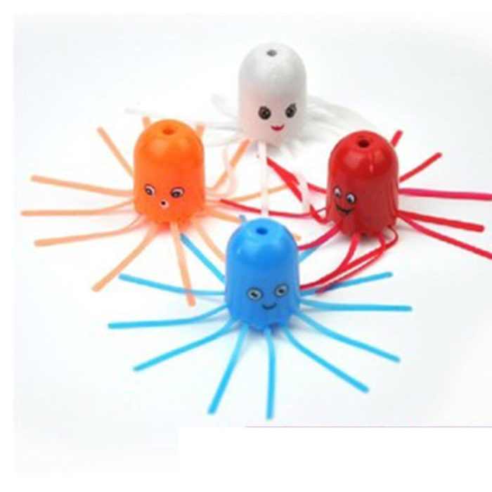 Hot New Cute Funny Toy Magical Magic Smile Jellyfish Float Science Toy Gift For Children Kids Randomly 3