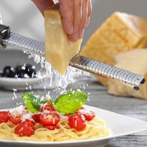 New Stainless Lemon Cheese Vegetable Zester Grater Peeler Slicer Kitchen Tool Gadgets Fruit Vegetable Chopper 13