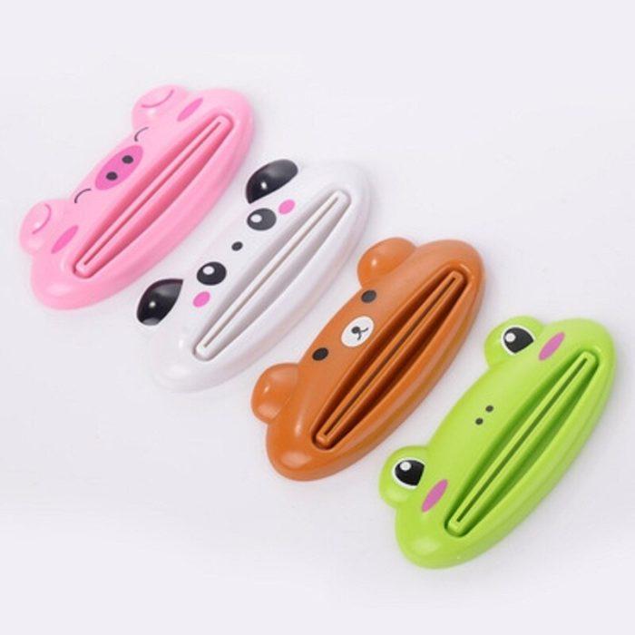Kitchen Accessories Bathroom Multi-function Tool Cartoon Toothpaste Squeezer Kitchen Gadget Useful Home Bathroom Decoration 4