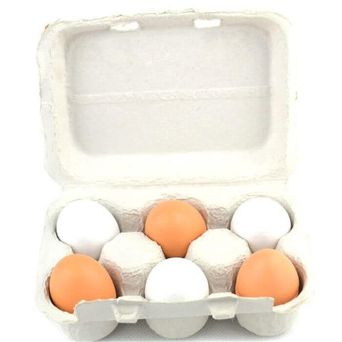 2019 Newest Arrivals 6PCS Eggs Yolk Pretend Play Kitchen Food Cooking Kids Children Baby Toy Funny Gift For Baby kids 2