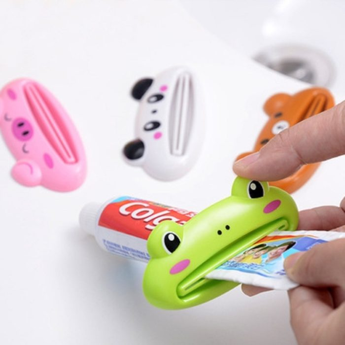 Kitchen Accessories Bathroom Multi-function Tool Cartoon Toothpaste Squeezer Kitchen Gadget Useful Home Bathroom Decoration 1