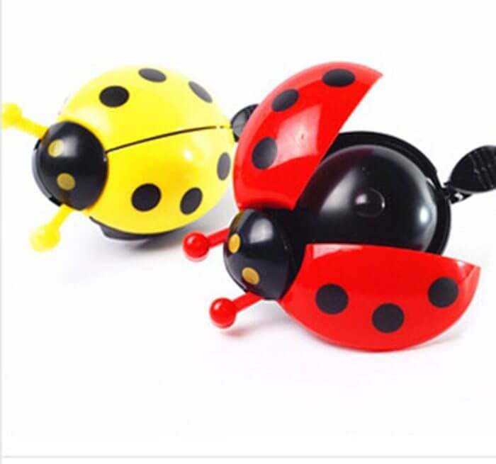 Bicycle Bell Ring Beetle Cartoon Cycling Bell Lovely Kids Ladybug Bell Ring for Bike Ride Horn Alarm bicycle Accessories 4