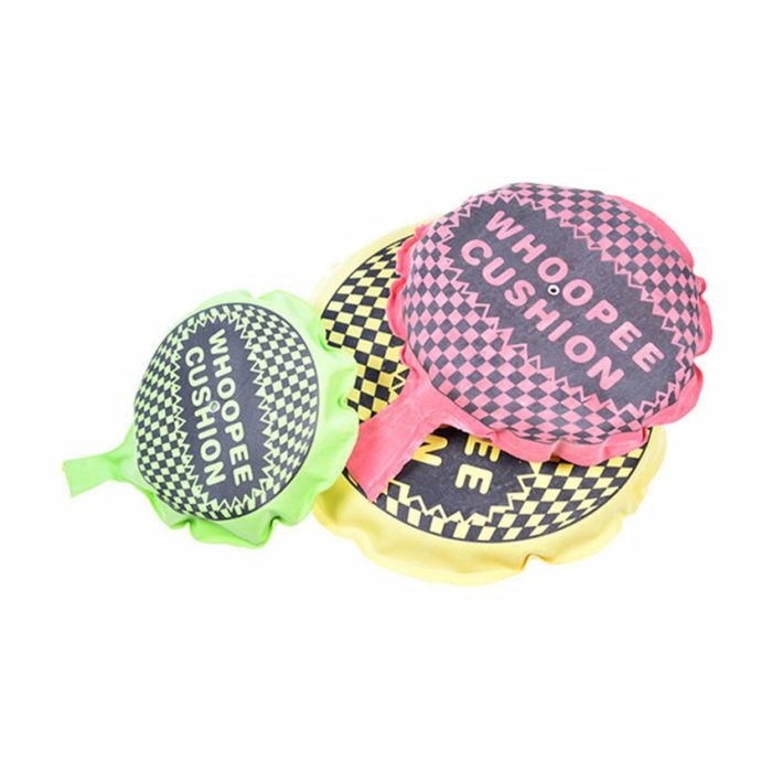 1PC Random Color Funny Whoopee Cushion Trick Fun Fart Pad Pillow Jokes Gags Pranks Maker Hallowmas Goods April Fools Toys Gifts 2