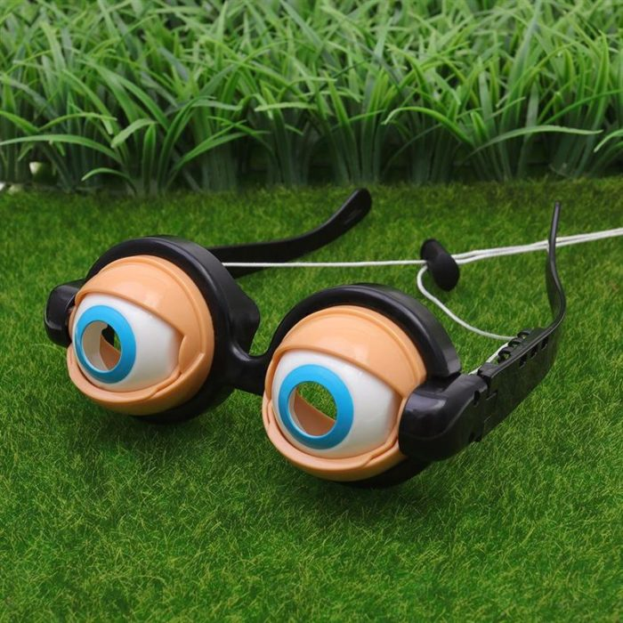 3pcs Kids Party Favor Funny Pranks Glasses Crazy Eyes Toy Supplies toys fashion trend toys for Birthday Gift 4