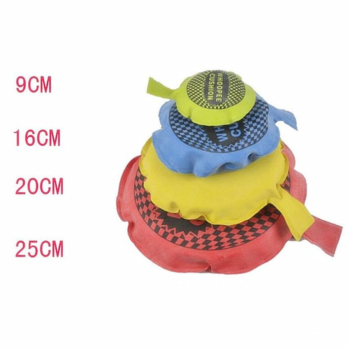 1PC Random Color Funny Whoopee Cushion Trick Fun Fart Pad Pillow Jokes Gags Pranks Maker Hallowmas Goods April Fools Toys Gifts 5