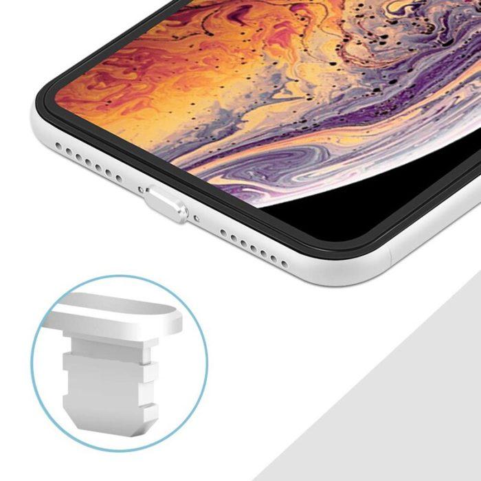 Aluminum Material Anti Dust Plug Charging Port for iPhone Xs Max XR X 8 Plus 7 6s 5s 5 SE For iPad Mini Phone Accessories Gadget 3