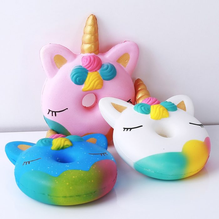 2018 Squishy Slow Rising Antistress Toy Cat Hamburger Fries Squishies Stress Relief Toy Funny Kids Gift Toy 59