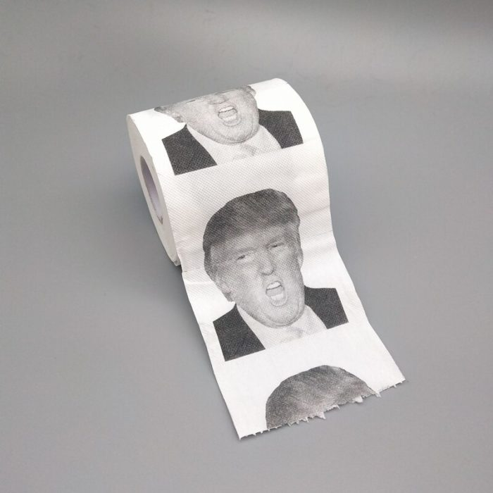 Creative Donald Trump Brush Toilet Supplies Set Brush Holders Wc Original Toilet Paper Bathroom Cleaning Accessories personality 6