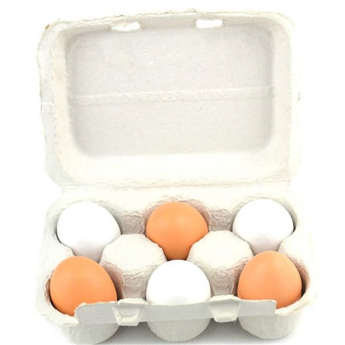 2019 Newest Arrivals 6PCS Eggs Yolk Pretend Play Kitchen Food Cooking Kids Children Baby Toy Funny Gift For Baby kids 4