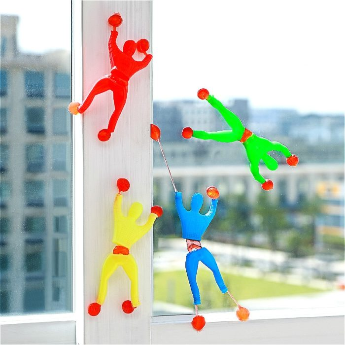 LOLEDE 1 Pcs New Prank Joke Toy Colourful Funny Viscosity Personage Random Halloween Kids Children Gags & Practical Jokes 1