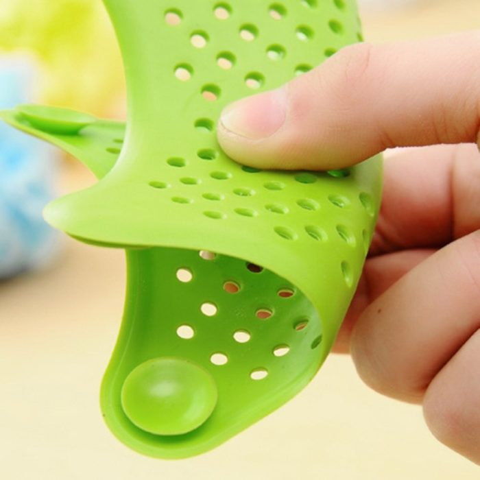 HOT Star Silicone Sink Strainers Sewer Outfall Filter Sewer Drain Hair Colander Bathroom Cleaning Kitchen Gadgets Accessories 3