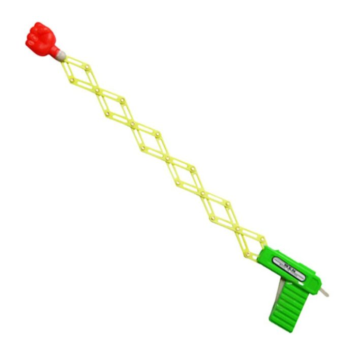 Retractable Fist Shooter Trick Toy Gun Funny Child Kids plastic Party Festival Gift Just For fun Classic Elastic Telescopic Fist 3