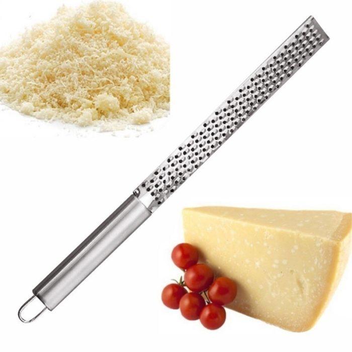 New Stainless Lemon Cheese Vegetable Zester Grater Peeler Slicer Kitchen Tool Gadgets Fruit Vegetable Chopper 5