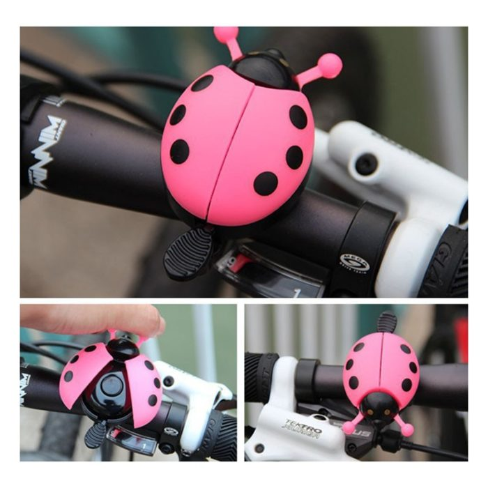 Bicycle Bell Ring Beetle Cartoon Cycling Bell Lovely Kids Ladybug Bell Ring for Bike Ride Horn Alarm bicycle Accessories 1