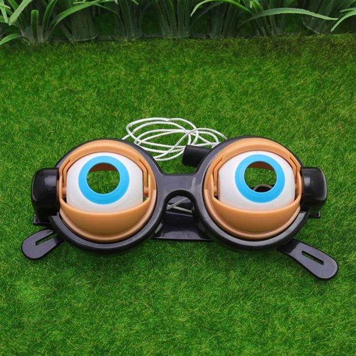3pcs Kids Party Favor Funny Pranks Glasses Crazy Eyes Toy Supplies toys fashion trend toys for Birthday Gift 5