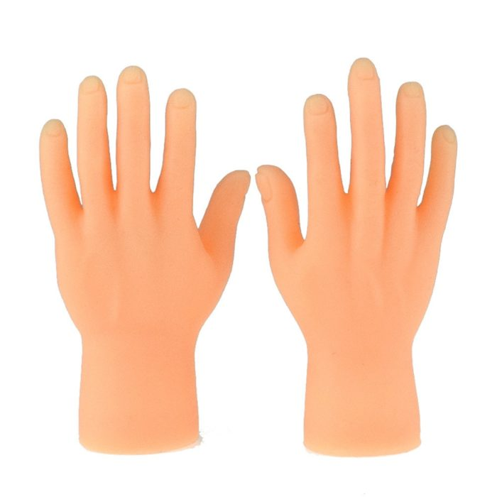 Novelty Toys Two Finger Hand Finger Puppets Novelty Funny Funny Set Of Two Finger Hand Finger Puppets Made of Silicone Play With 5
