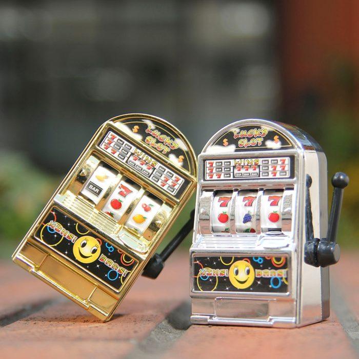 Mini Fruit Slot Machine Lucky Jackpot Antistress Kids Toys Funny Game Children Educational Toy Birthday Gift 1