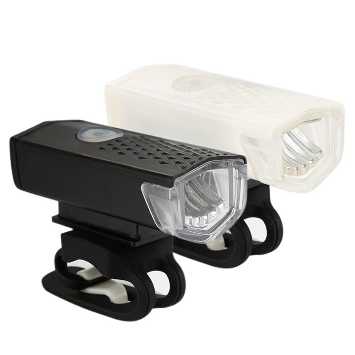 Bike Light USB Rechargeable 300 Lumens Bicycle Lamp Front Headlight Flashlight Bicycle Light Bicycle Accessories 2