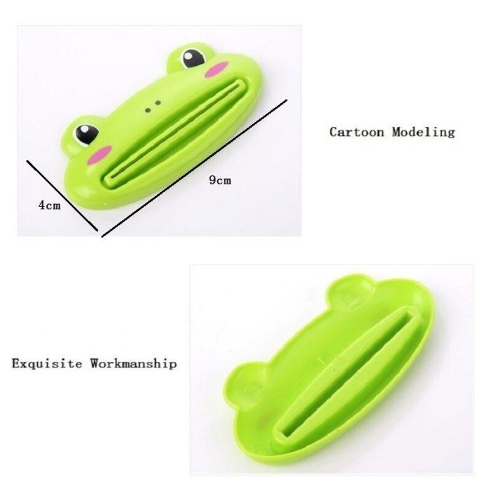 Kitchen Accessories Bathroom Multi-function Tool Cartoon Toothpaste Squeezer Kitchen Gadget Useful Home Bathroom Decoration 3