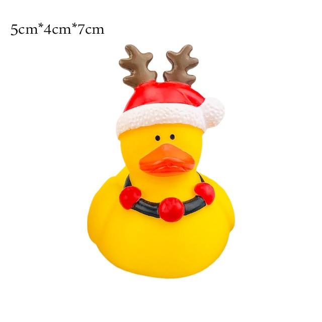 ESALINK 10CM Baby Bathing Toys Us President Trump Fun Rubber Duck Children'S Bath Shower Waterfloating Yellow Duck Decoration 47