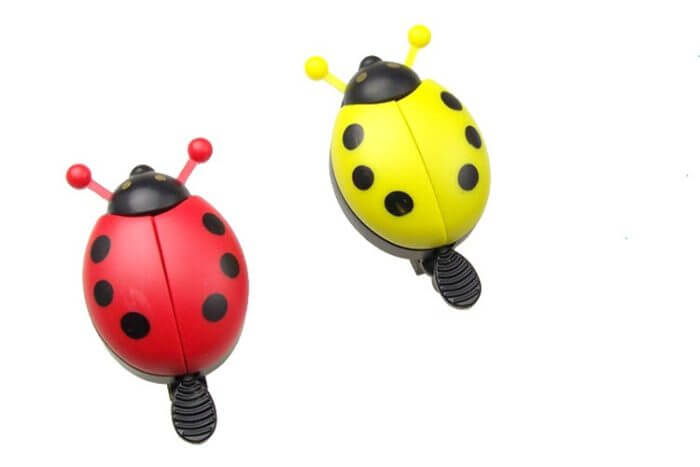 Bicycle Bell Ring Beetle Cartoon Cycling Bell Lovely Kids Ladybug Bell Ring for Bike Ride Horn Alarm bicycle Accessories 5