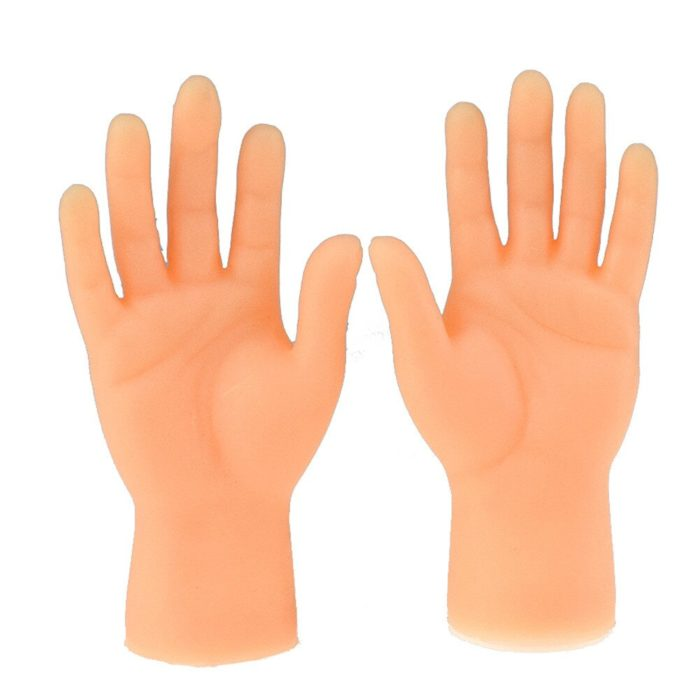 Novelty Toys Two Finger Hand Finger Puppets Novelty Funny Funny Set Of Two Finger Hand Finger Puppets Made of Silicone Play With 4