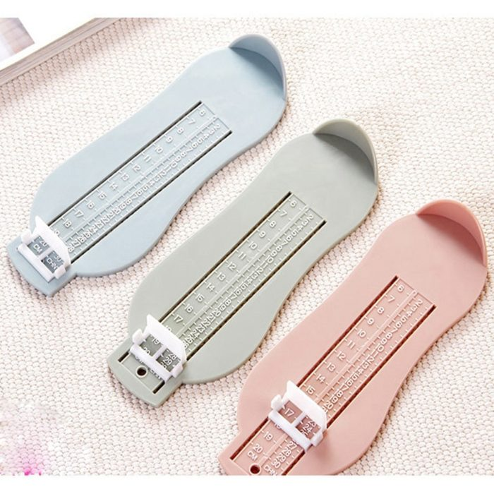 Baby Souvenirs Foot Shoe Size Measure Gauge Tool Device Measuring Ruler Novelty Funny Gadgets Educational Learning Toddler Toys 19